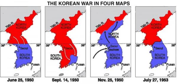 Korean War imageskoreanwar-fourmaps1200.jpg